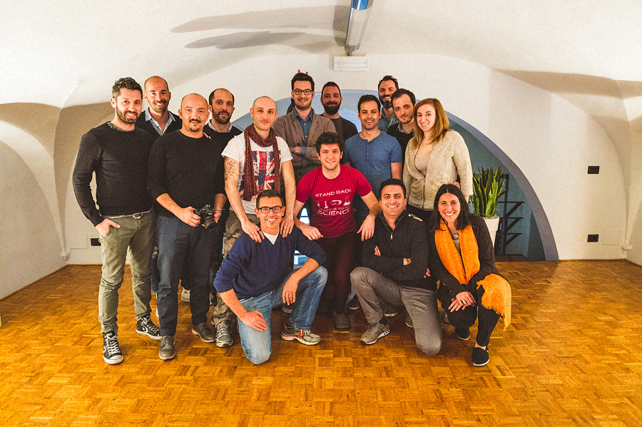 group photo from workshop