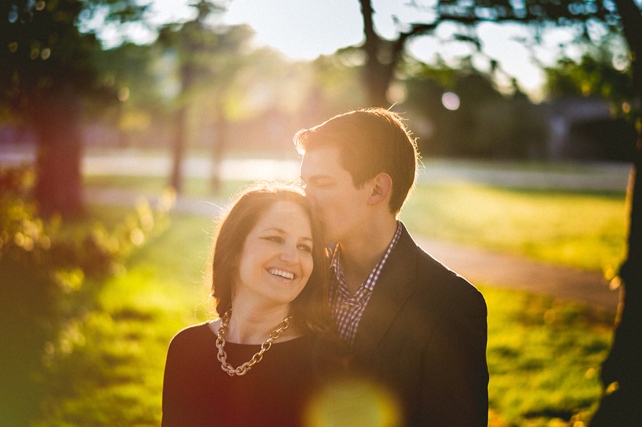 tidal basin engagement session