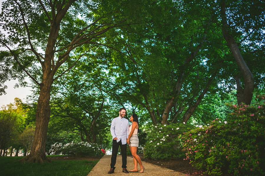 washington dc engagement session portraits near union station