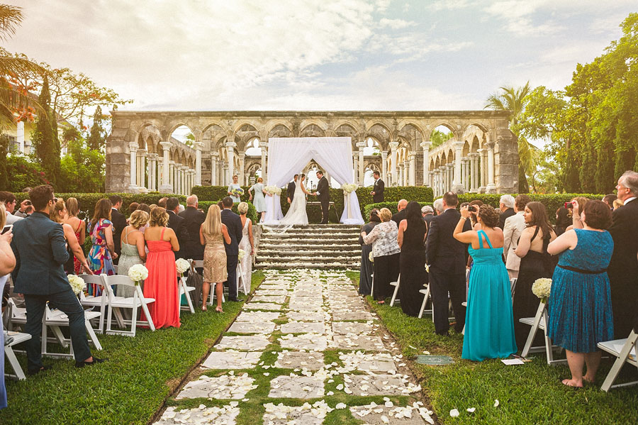 wedding bahamas cloisters