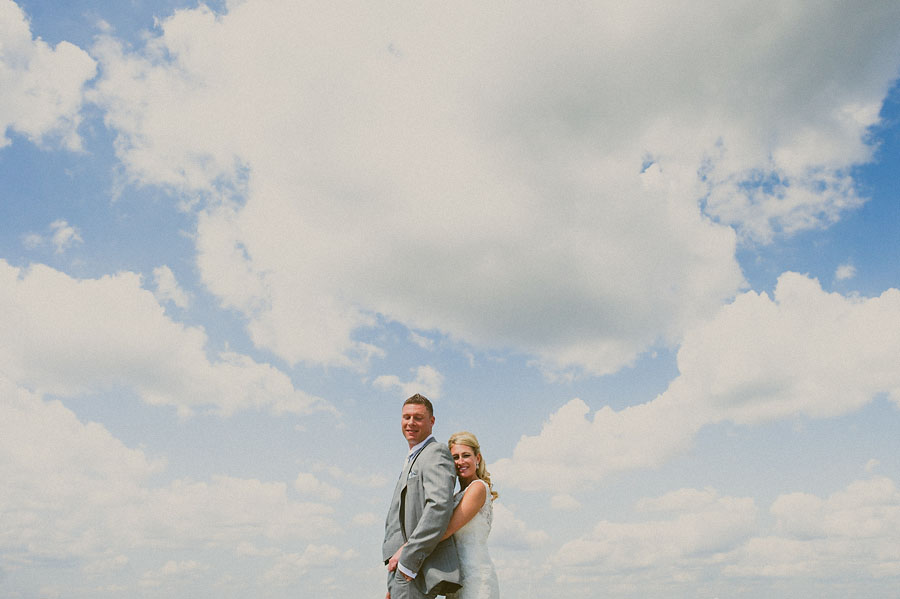 incredible clouds during portraits