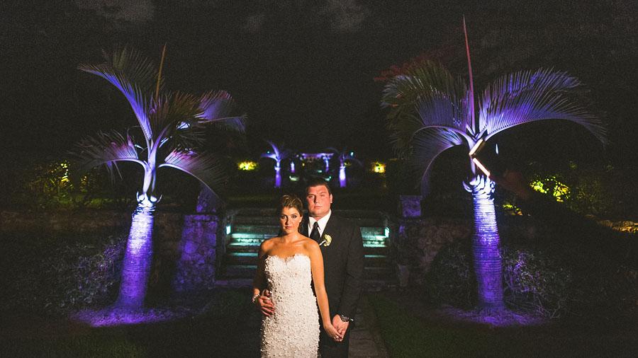cloisters wedding photos at night
