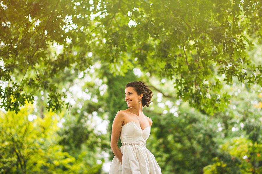 baltimore wedding portrait of a bride