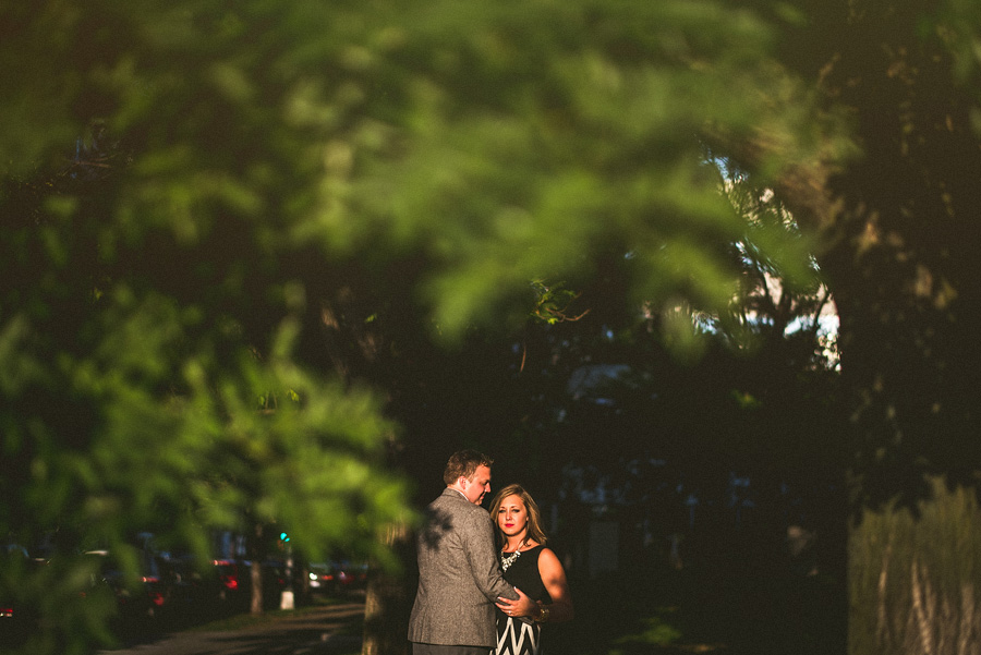 dramatic light during dc engagement