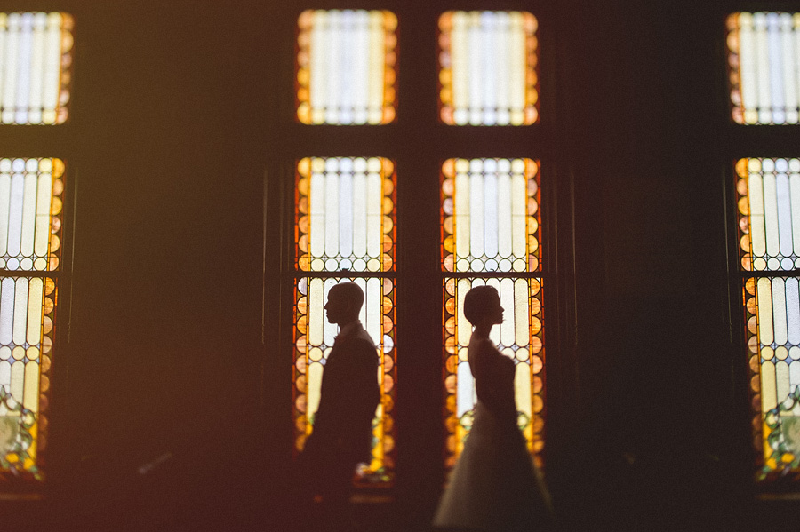 georgetown university wedding chapel portrait