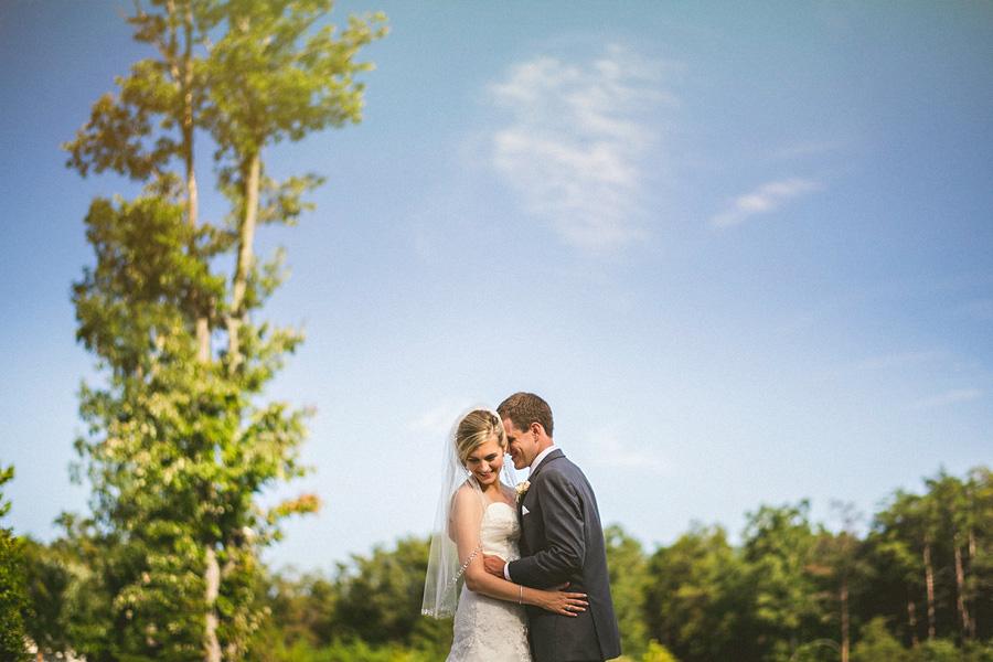 bride and groom in virginia wedding day