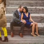 highline engagement session