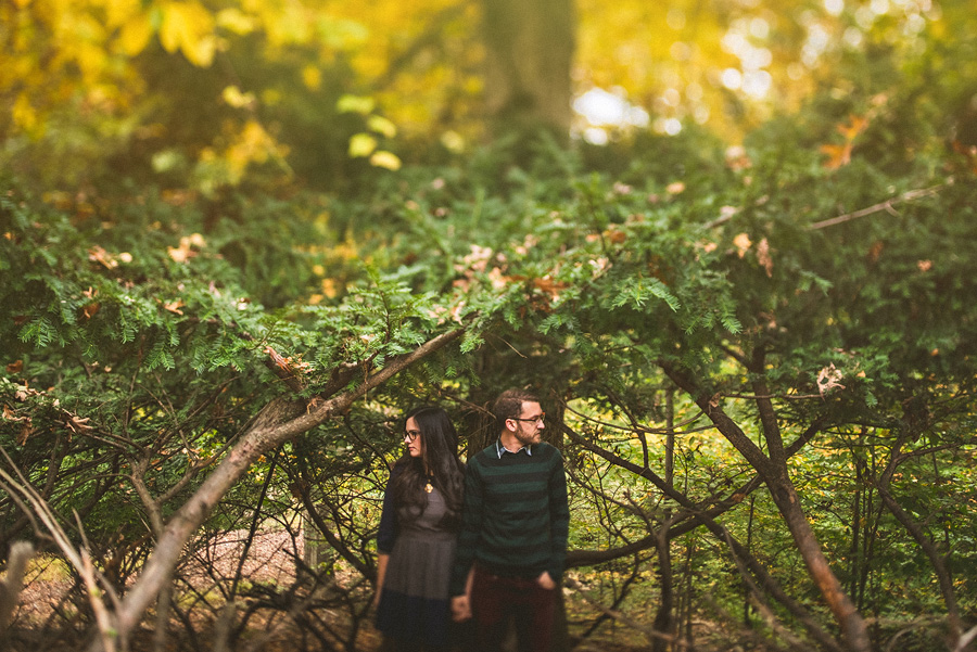 awesome landscaping for engagement session