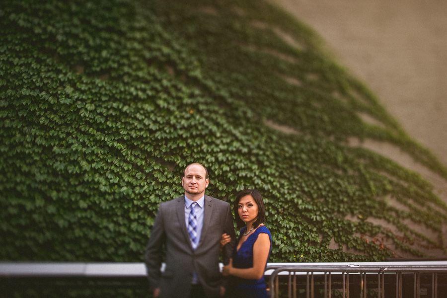 best tilt shift portrait with couple