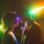 pixelstick wedding portraits