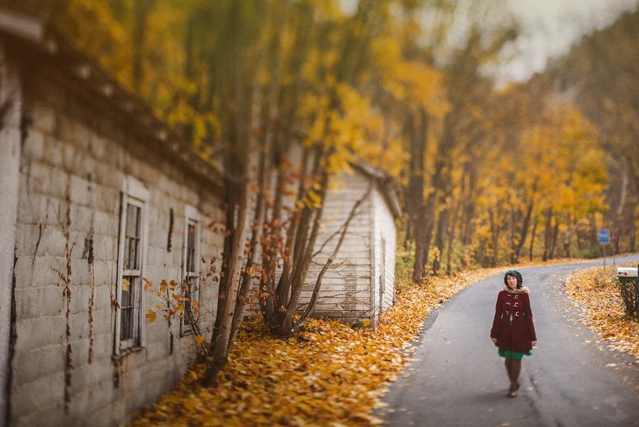 fall time portraits