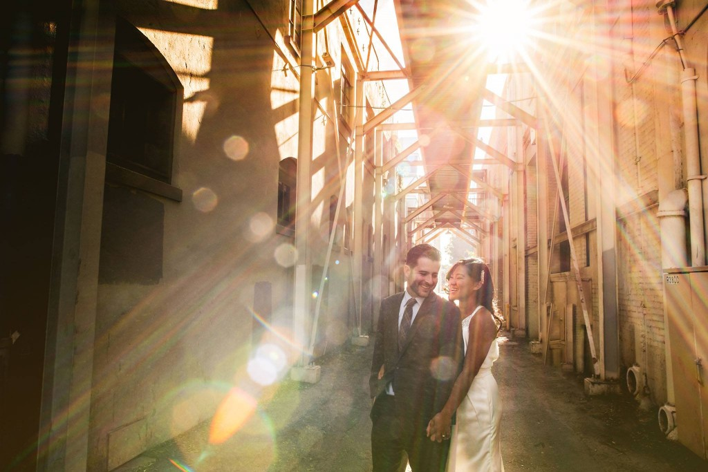 lens flare in portraits