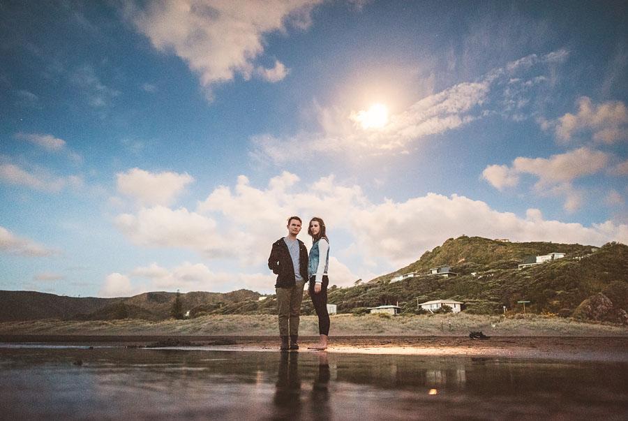 moon lit portraits in newzealand