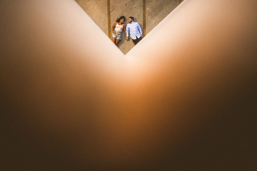 artistic engagement and wedding photos