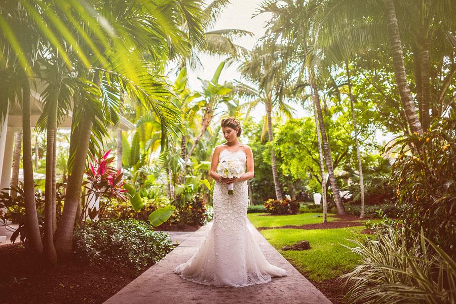 artistic bride photo