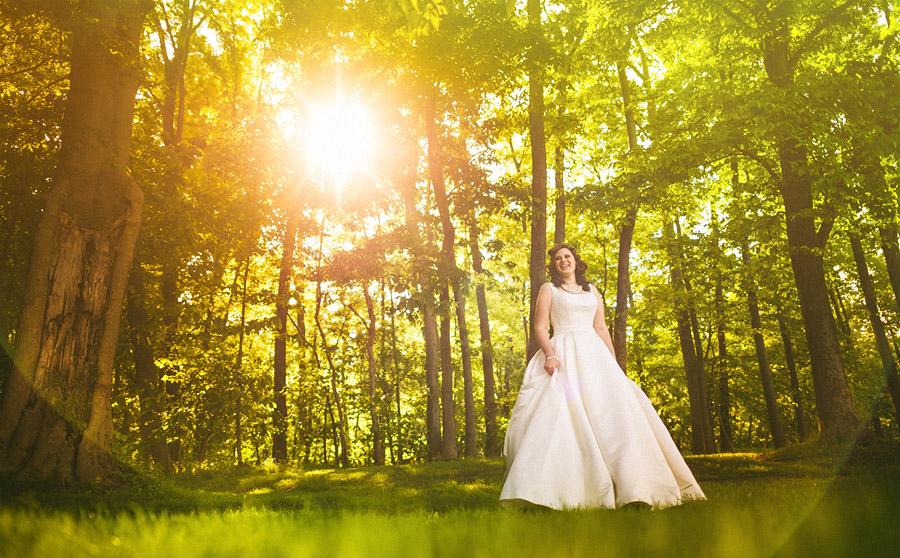 bridal portrait creative