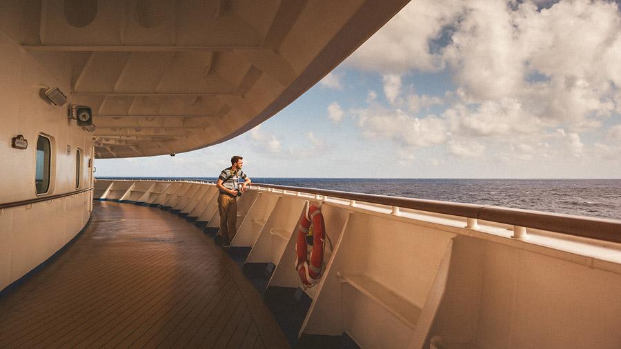 cruise ship portrait