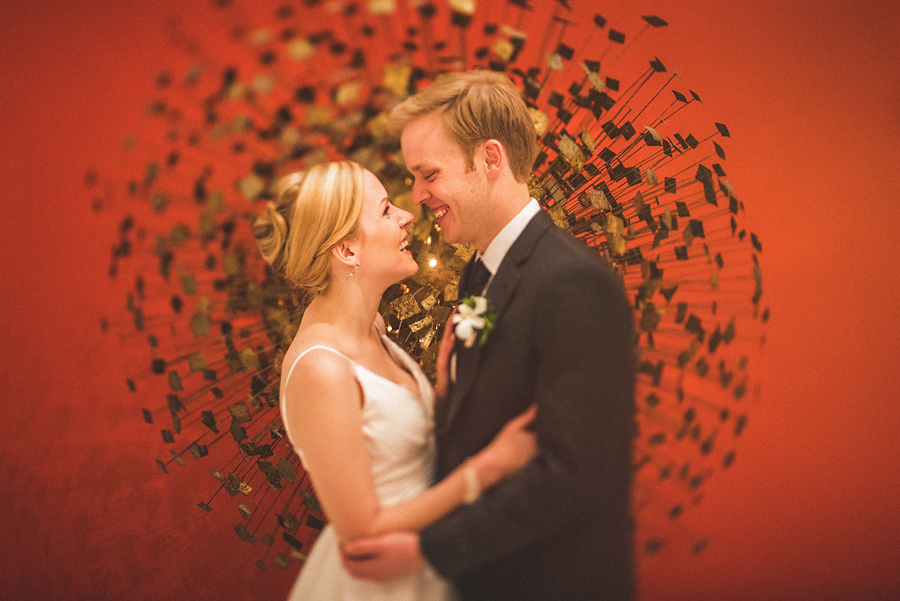 briand and kate wedding day longview art gallery