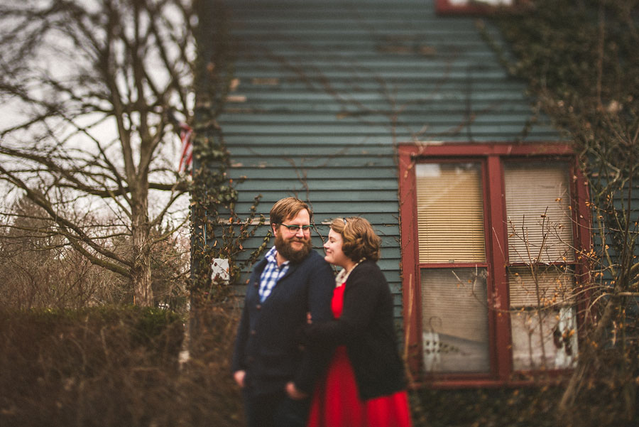 portrait of couple in indianapolis