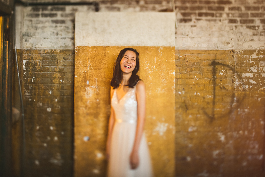 creative bride portraits