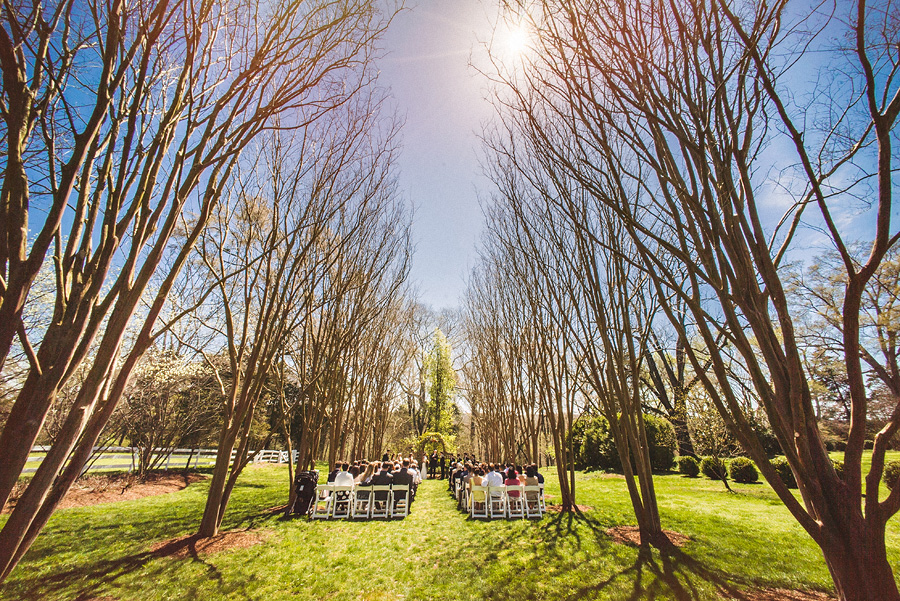 tuckahoe plantation wedding ceremony