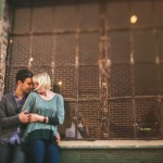 artistic portraits for engagement sessions