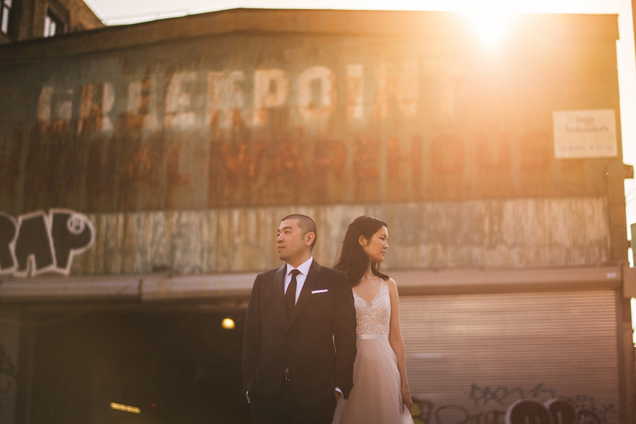 hipster wedding at greenpoint loft