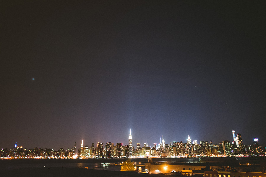 nyc skyline after dark