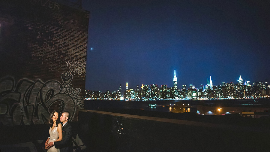 greenpoint loft wedding portraits