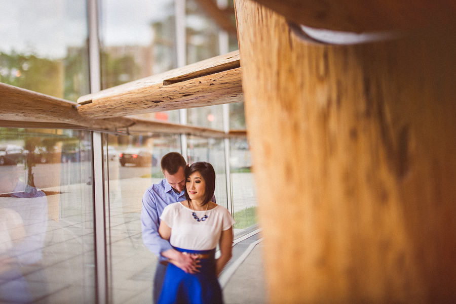 tilt shift engagment portraits