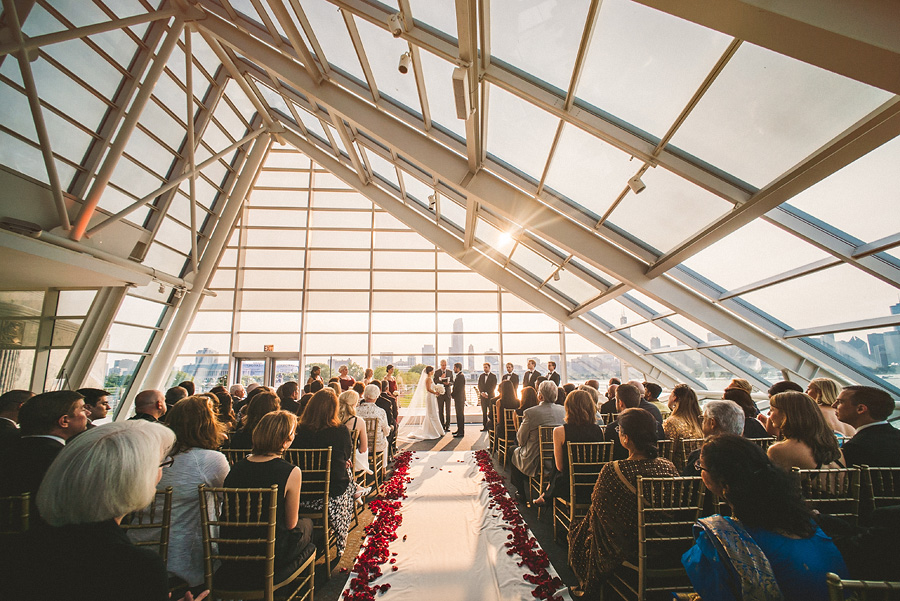adler planetarium wedding ceremony