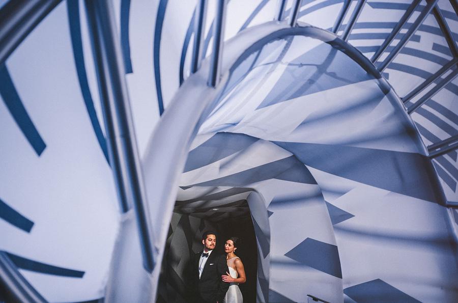 emily + om // adler planetarium wedding - Sam Hurd Photography