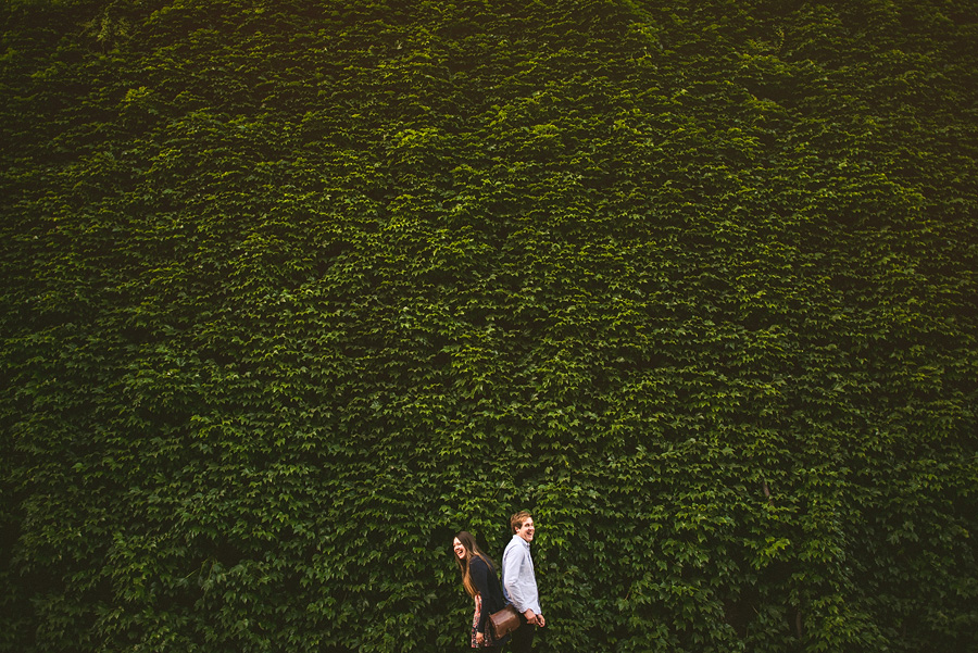 ivy in the uk for engagement portraits