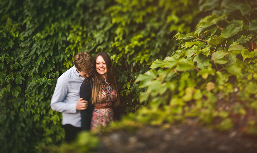 ivy in the uk for engagement photos that are creative