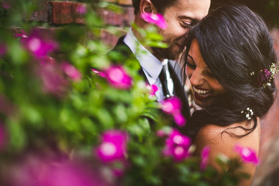 creative artistic wedding photos