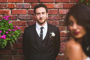 Eliot + Julyssa <br> mankin mansion weddings