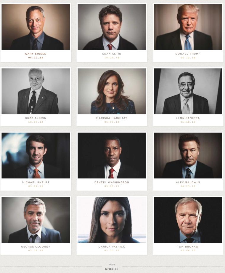 epic portraits