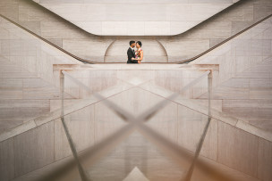 Pearl + Sagar <br></noscript> dc wedding elopement