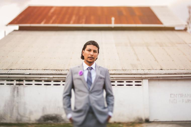 04 groom portrait tilt shift