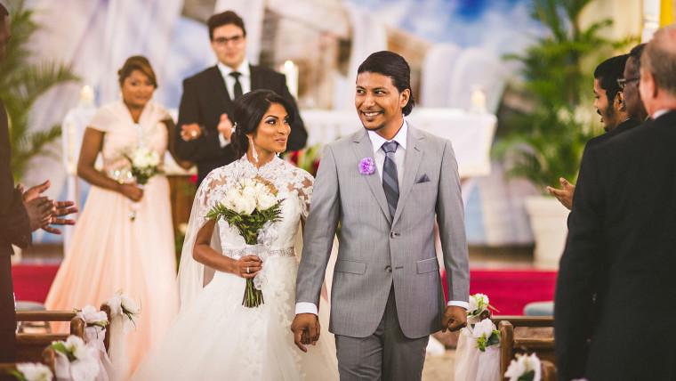 07 bride and groom walking down aisle