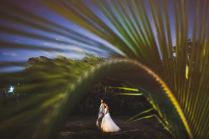 ravi + brittany<br>trinidad + tobago wedding