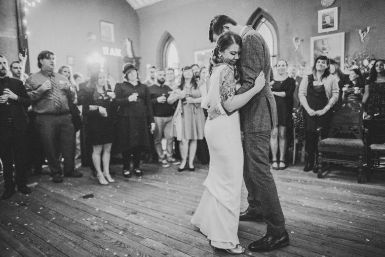Church and company wedding