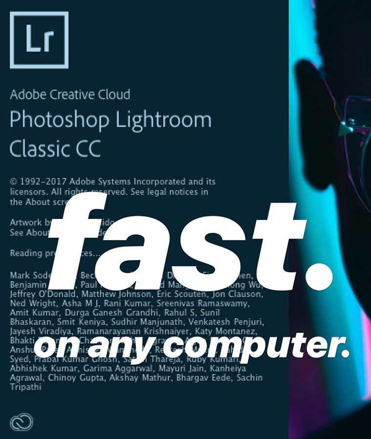 Fastest Lightroom/Workflow Possible.