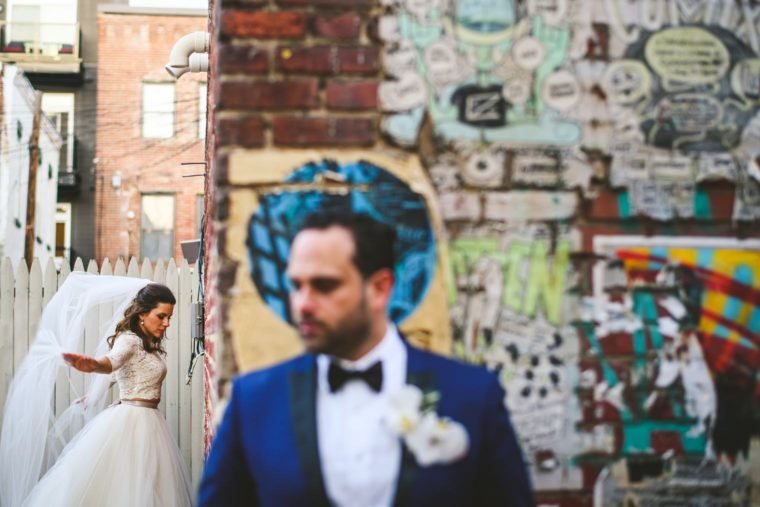 creative style of wedding photos in dc
