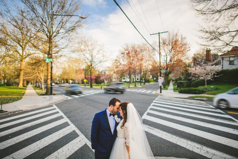 st sophia dc wedding outside church