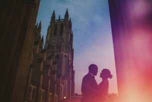 Vernon Davis + Kayla Engagement Session National Cathedral