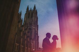 Vernon Davis + Kayla Engagement Session National Cathedral