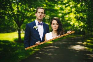 Mandi + Henry MD Backyard Zoom Wedding