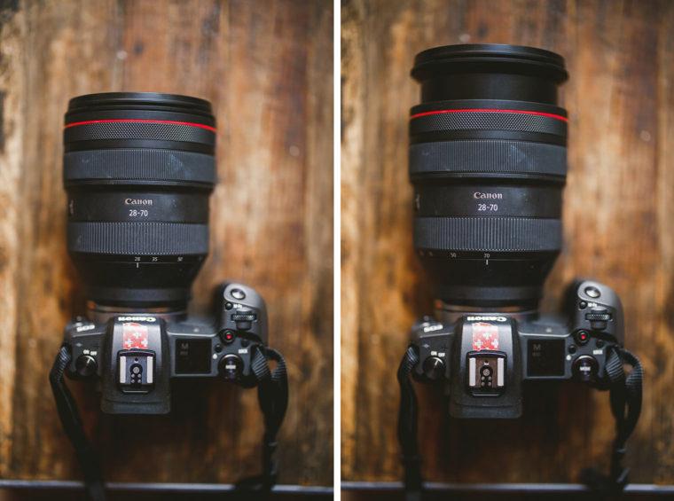 lens comparison size 28 70 f2