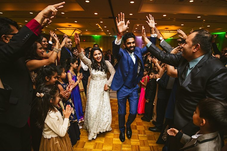 69 20181027 20 33 28 South asian wedding reception dancing guests at westfields Marriott wedding in Dulles
